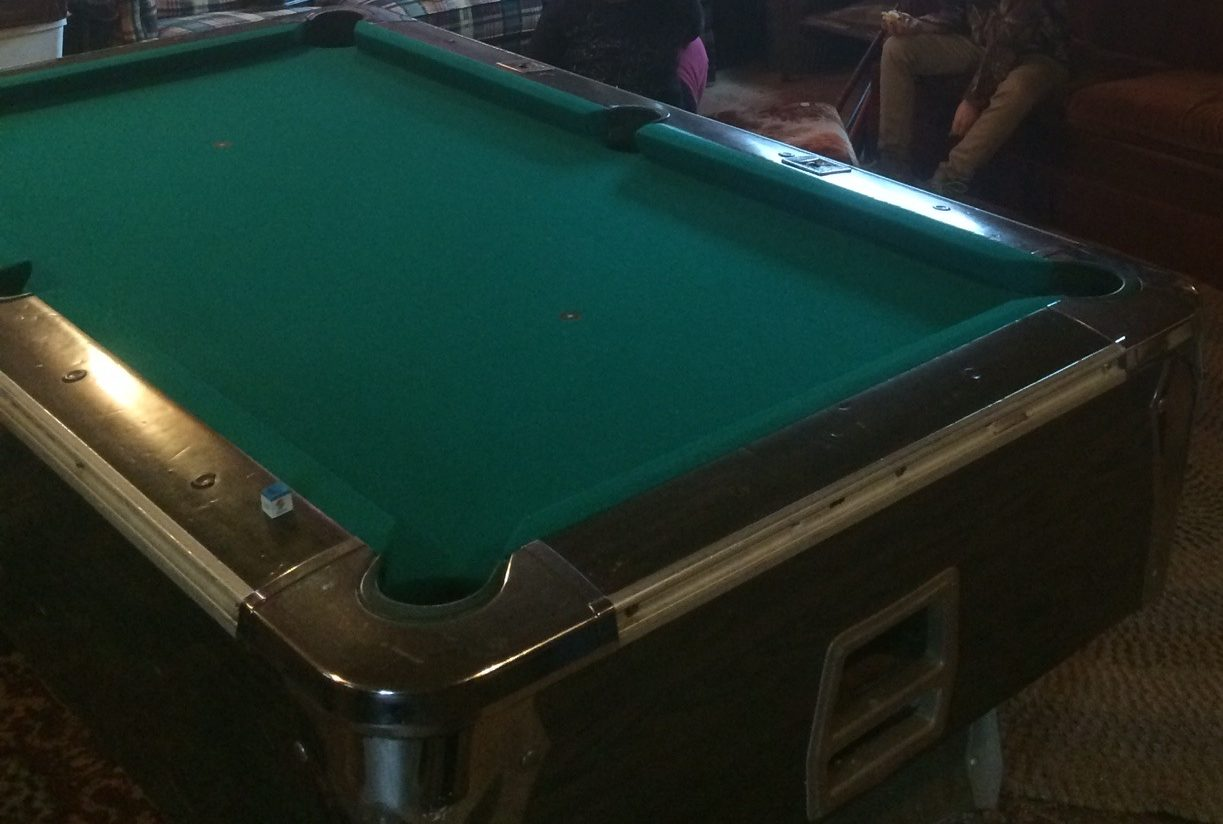 Residental Pool Table Refelting Moving Repair